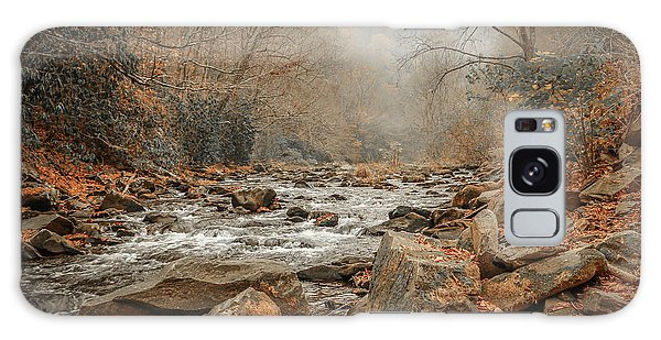 Hazy Mountain Stream #2 Galaxy Case