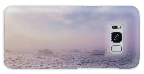 Hazy Sunset In Bar Harbor Maine Galaxy Case