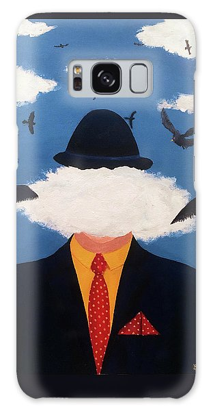 Head In The Cloud Galaxy Case by Thomas Blood