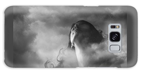 Head In The Clouds Galaxy Case