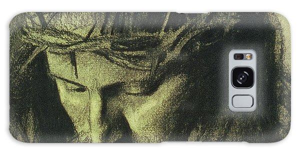 Religious Galaxy Case - Head Of Christ by Franz Von Stuck