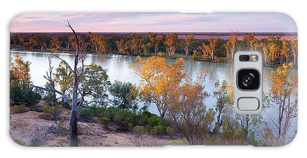 Heading Cliffs Murray River South Australia Galaxy Case by Bill Robinson