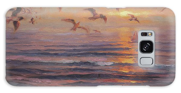 Seagull Galaxy Case - Heading Home by Steve Henderson