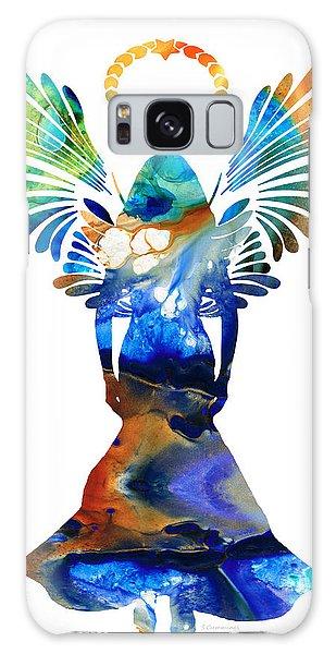 Angel Galaxy Case - Healing Angel - Spiritual Art Painting by Sharon Cummings