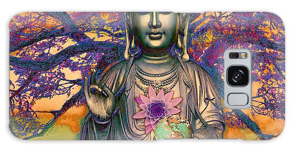 Galaxy Case featuring the mixed media Healing Nature by Christopher Beikmann
