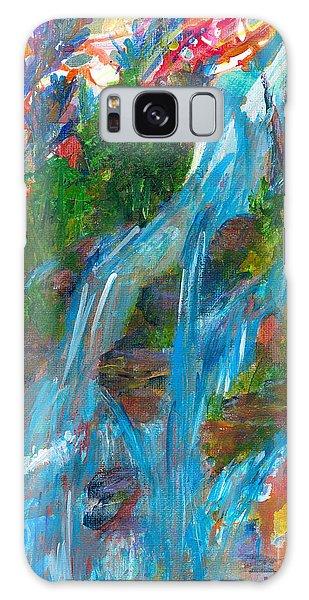 Healing Waters Galaxy Case by Denise Hoag