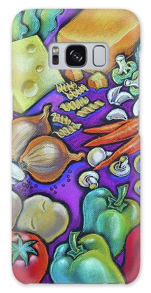 Molecular Biology Galaxy Case - Health Food For You by Leon Zernitsky