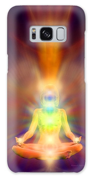 Healthy Aura Galaxy Case by Robby Donaghey