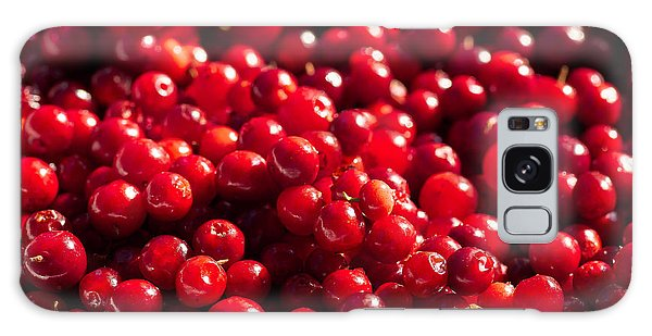 Healthy Pile Of Lingonberries Galaxy Case