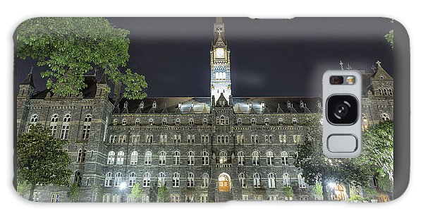 Galaxy Case featuring the photograph Healy Hall by Belinda Greb