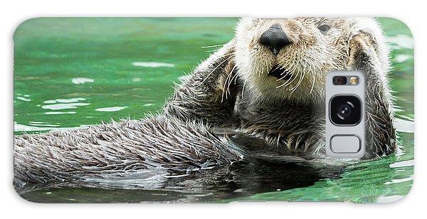 Otter Galaxy Case - Hear No Evil by Mike Dawson