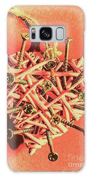 Metal Galaxy Case - Heart Attack by Jorgo Photography - Wall Art Gallery