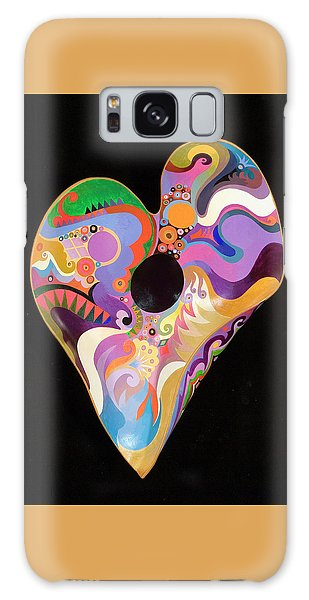 Heart Bowl Galaxy Case by Bob Coonts