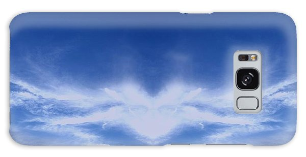 Religious Galaxy Case - Heart Cloud by Kimberly  W