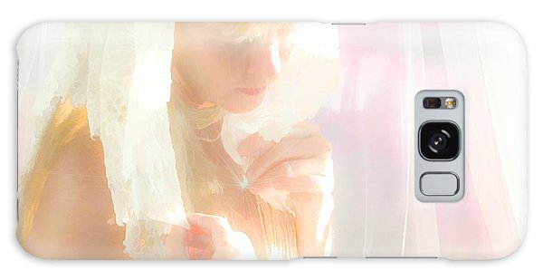 Galaxy Case - Heart Drop by Uldra Johnson