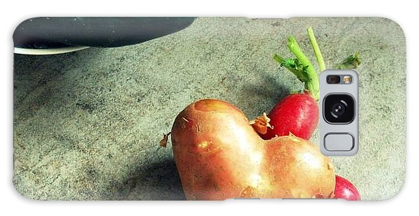 Heart For Lunch Galaxy Case by Marija Djedovic