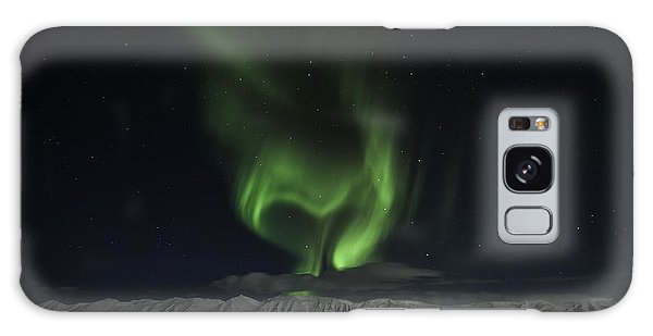 Heart Of Northern Lights Galaxy Case