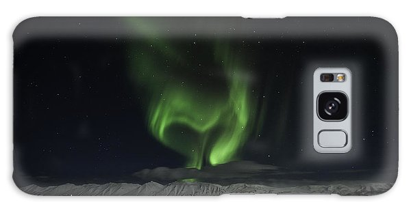 Heart Of Northern Lights Galaxy Case by Frodi Brinks