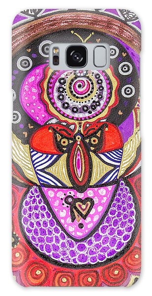 Heart Of The Feminine Galaxy Case