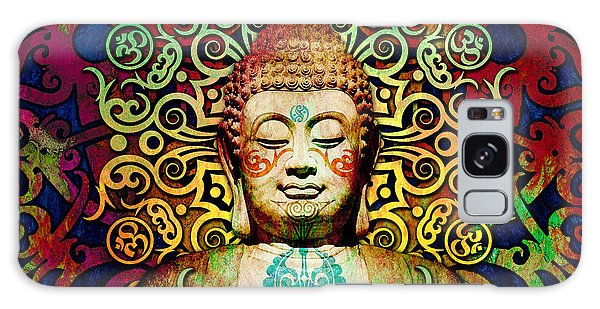 Heart Of Transcendence - Colorful Tribal Buddha Galaxy Case