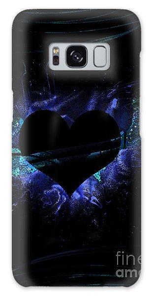 Heart On Fire Galaxy Case