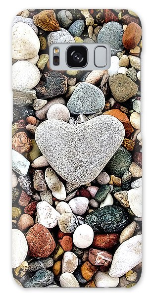 Heart-shaped Stone Galaxy Case