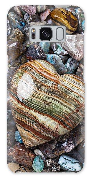 Heart Stone Galaxy Case
