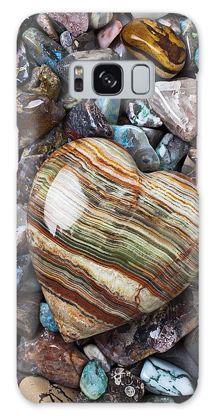 Rock Galaxy Case - Heart Stone by Garry Gay