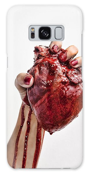 Heartbreaker Galaxy Case by John Crothers