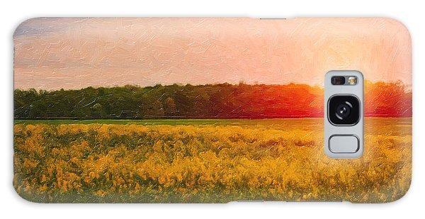 Pasture Galaxy Case - Heartland Glow by Tom Mc Nemar