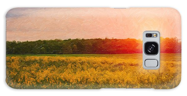 Rural Scenes Galaxy S8 Case - Heartland Glow by Tom Mc Nemar
