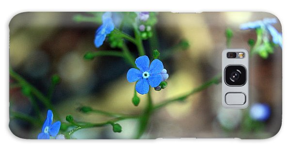 Heartleaf Brunnera Galaxy Case