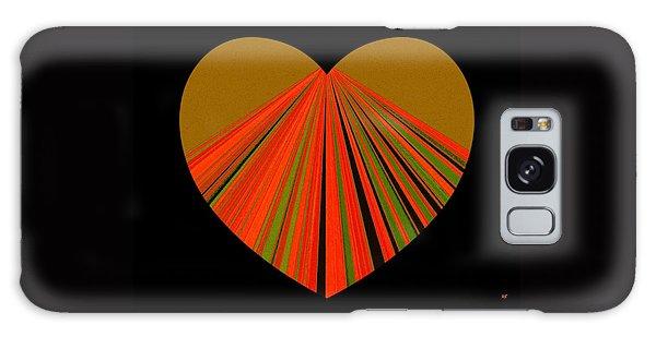 Heartline 5 Galaxy Case by Will Borden
