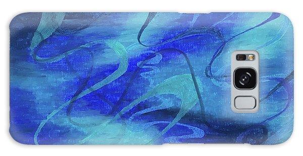 Heartsong Blue 1 Galaxy Case