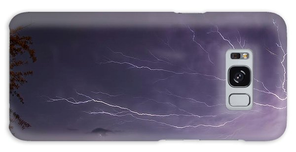 Heat Lightning Galaxy Case