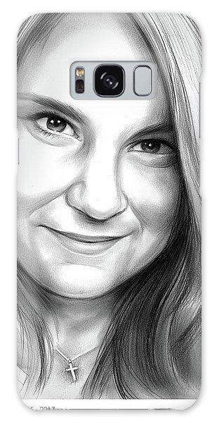 Heather Galaxy Case - Heather Heyer by Greg Joens