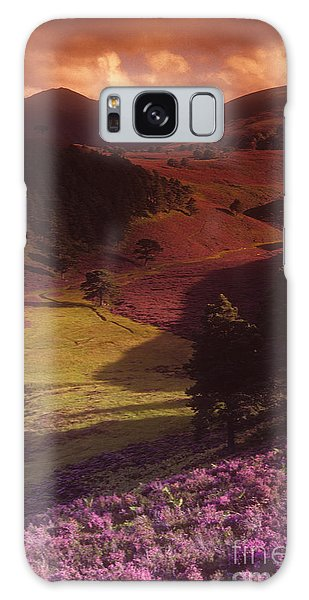 Galaxy Case - Heather Hills by Phil Banks