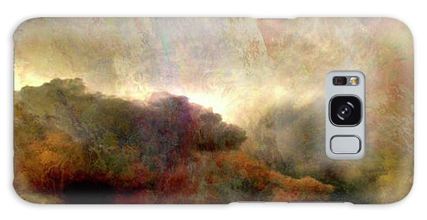 Heaven And Earth - Abstract Art Galaxy Case