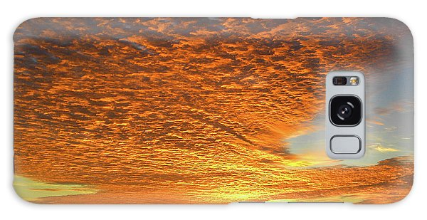 Heaven Sent Golden Sunrise Galaxy Case