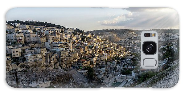Heaven Shines On The City Of David Galaxy Case