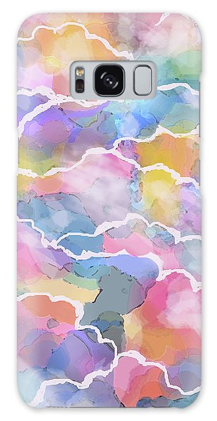 Heavenly Clouds Galaxy Case