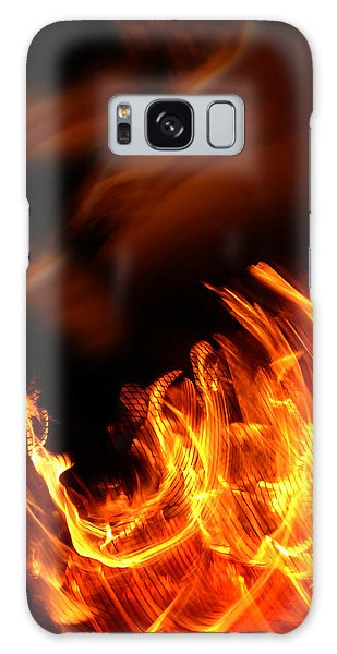 Heavenly Flame Galaxy Case