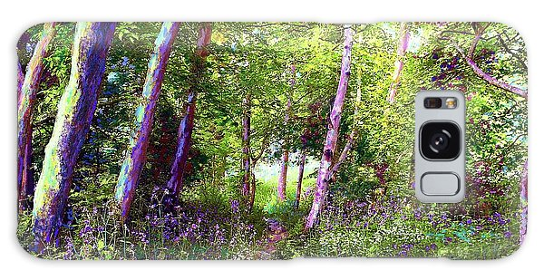Heavenly Walk Among Birch And Aspen Galaxy Case