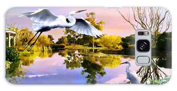 Heavens Lake Galaxy Case by Jann Paxton