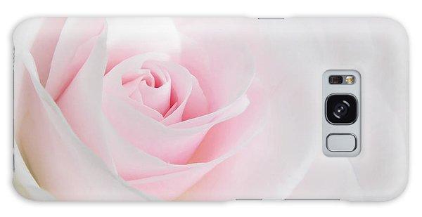 Heaven's Light Pink Rose Flower Galaxy Case