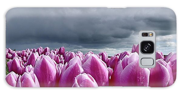 Heavy Clouds Galaxy Case by Mihaela Pater