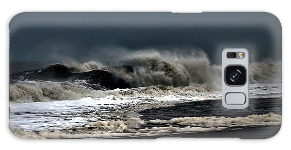 Stormy Surf Galaxy Case