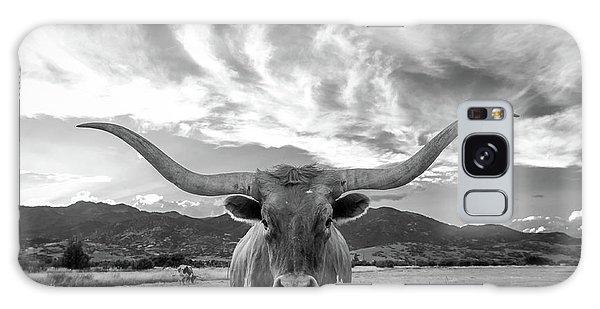 Texas Galaxy Case - Heber Valley Longhorn by Johnny Adolphson