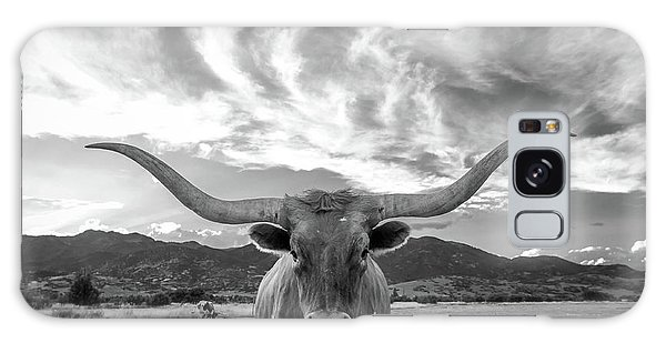 Cow Galaxy Case - Heber Valley Longhorn by Johnny Adolphson