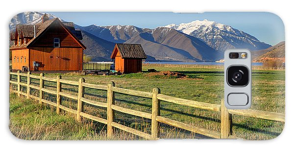 Heber Valley Ranch House - Wasatch Mountains Galaxy Case